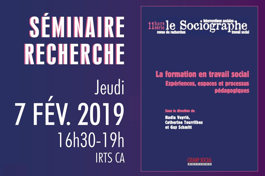 Séminaire recherche Prefas Champagne-Ardenne