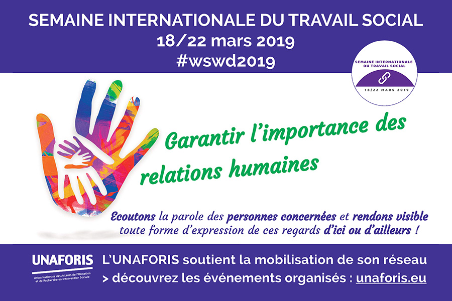 Table ronde Semaine internationale du travail social