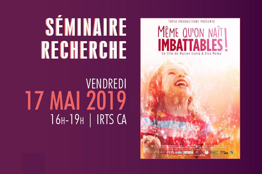 """Séminaire recherche Prefas Champagne-Ardenne """"Même qu'on naît imbattables !"""""""