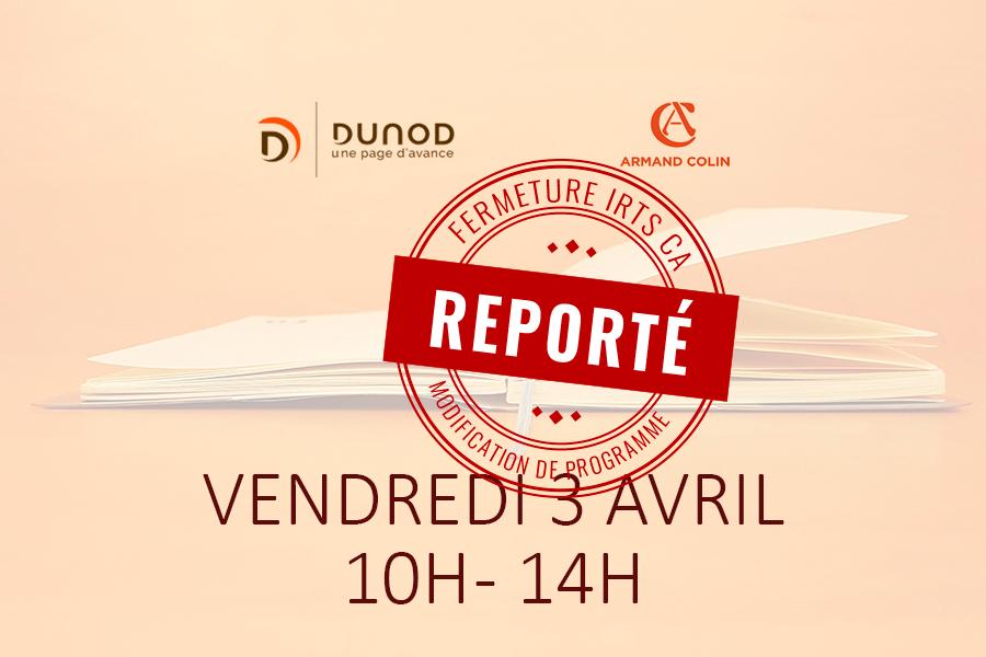 Exposition vente éditions Dunod Armand Colin